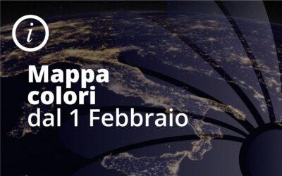 Colori regioni dal 1 Febbraio 2021